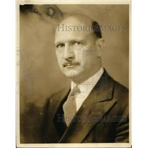 1930 Press Photo NYC Louis E Disch neurologist & psychiartrist