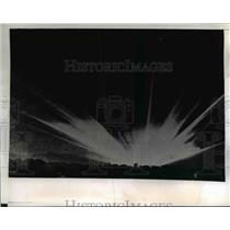 1943 Press Photo The powerful beams will ferret out any German raiders