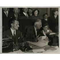 1934 Press Photo Theodore Dreisen, a novelist - nee38585