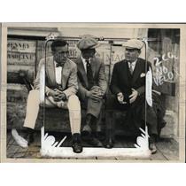 1925 Press Photo Walter Plato Dr Walter Koelz John LaForce