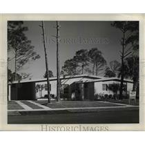 1959 Press Photo Port Building in Port Charlotte Florida - nee40825