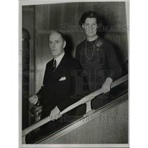1938 Press Photo British High Commissioner for Canada, Sir Francis Floud