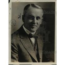 1920 Press Photo Professor HA Milliken of University of Chicago - nee32441