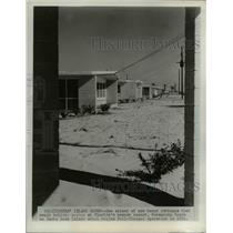 1954 Press Photo New Beach Cottages at Pensacola Beach on Santa Rosa Island