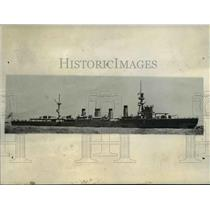 """1932 Press Photo Toyly Japan The cruiser the """"NAKA"""" is kept in readiness."""