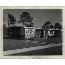 1959 Press Photo Model House in Port Charlotte Florida - nee40827