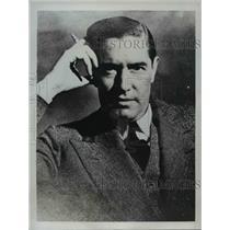 1935 Press Photo Commendatore Carlo Bossi, Italian Consul General in New York
