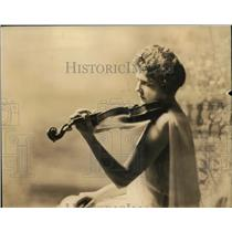 1925 Press Photo Mrs Lena Milam Director of Music at Beaumont Schools
