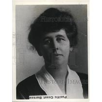 1927 Press Photo Dean Of Women at Stanford University Mary Yost - nee30864