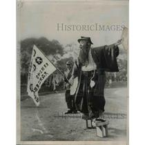 1936 Press Photo Japanese Athletes Filed Day Japanese Fed of Labor Outing