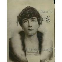 1920 Press Photo Mrs. Marguerite E. Hanson - nee26950