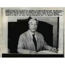 1960 Press Photo Poet Boris Pasterak where he was awarded the Nobel Prize