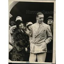 1925 Press Photo Count and Countess Anastase A. Vonsiatasky Greek Church