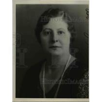 1935 Press Photo of Mrs A.H. Bruening. - nee47473