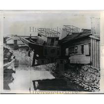 1947 Press Photo Power Driven Vessel Ship Shikoku, Japan - nee46281
