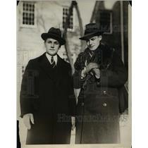 1928 Press Photo Harvard oldest university in America has two youngest deans.