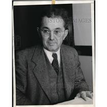 1935 Press Photo Clark White VP of California Newspaper Publisher's Assn.