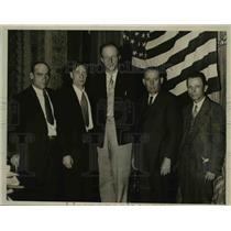 1933 Press Photo Officers of California Cooperative Relief Association