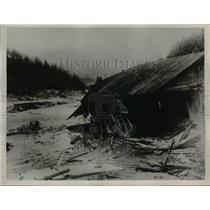 1936 Press Photo 1000 residents of Osaruzawa, Akita Prefecture, Japan died.