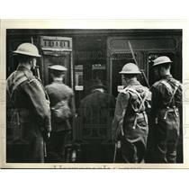 1940 Press Photo London England Capt Franz Von Bintelen German espionage