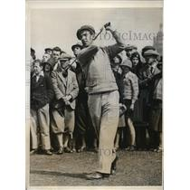 1931 Press Photo Sidney Roper British golfer in Amateur rounds - nes28484