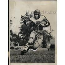 1933 Press Photo Clifford Montgomery Columbia football captain - nes29578