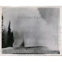 1952 Press Photo Denver, CO Avalanche Loveland Pass - nee54275