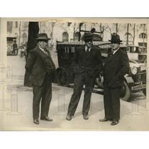 1929 Press Photo Tom Heeney in Paris before bout vs Gene Tunney - nes29369
