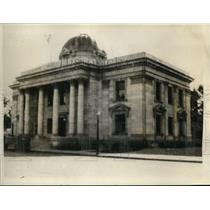 1927 Press Photo Washoe County Courthouse in Reno Nevada famous as Divorce Mill.