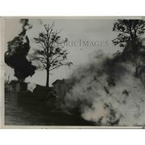 1936 Press Photo U.S. Mine Bureau Study Coal Explosions, Bruceton Pennsylvania