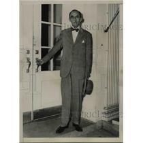 1936 Press Photo Don Manuel de Freyre y Santander, Peruvian Ambassador