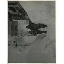 1937 Press Photo Buffalo Blizzard  - nee49617