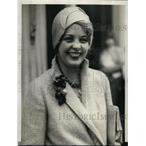1929 Press Photo Elaine Voleman Sacramento Calif at Diamond Jubilee fair