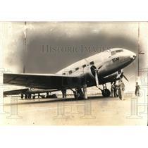 1934 Press Photo Cyclone Powered Dougla Monoplane Of K. L. M. Air Lines