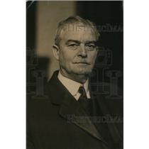 1920 Press Photo Frank Buchanan Former Congressman from Chicago  - nee56714