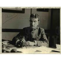 1915 Press Photo Col. R B Miller, Army Medical Department, Personnel Division.
