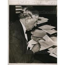 1939 Press Photo Texas Senator Tom Connally  - nee55384
