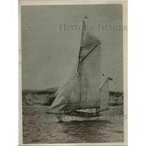 1926 Press Photo Teva Yacht - nee53216