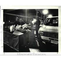 1989 Press Photo Burke airport