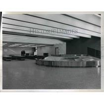 1965 Press Photo Cleveland Hopkins International Airport, expansion of customs