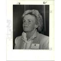1984 Press Photo Mary Ann Westropp, recipient of the Mayor's Award