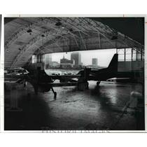 1977 Press Photo Burke Lakefront airport