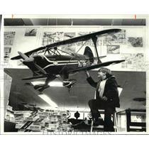 1981 Press Photo David Pool, 8 at Wickcliffe at the Hobby House