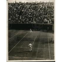 1930 Vintage Photo Big Bill Tilden wins National Singles Championship