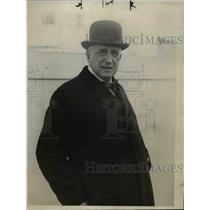 1928 Press Photo S.S. Aquitania Charles M. Schwab - nee66784