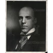 1930 Press Photo Reginald Stewart Musician - nee57397