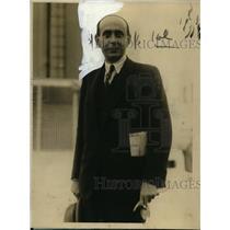 1926 Press Photo Czech Minister John Garrigue Masaryk - nee62344
