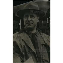 1920 Press Photo John Herget- Chaplain. - nee57213