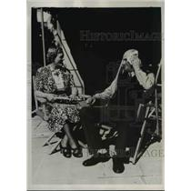 1938 Press Photo Mike Jacobs Boxer & Wife in Miami - nee65877