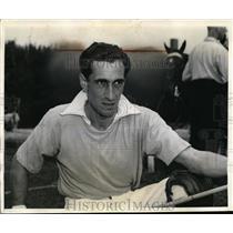 1939 Press Photo Bob Skene at International Cup - nee63409